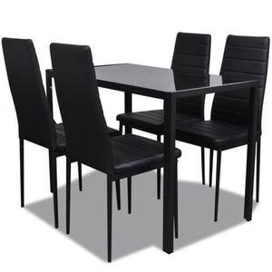 TABLE DE CUISINE  Ensemble de table pour salle à manger cinq pièces