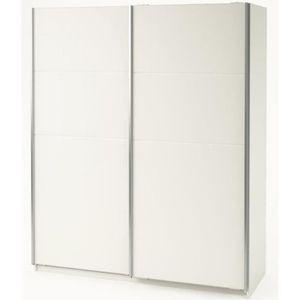 ARMOIRE DE CHAMBRE Armoire avec 2 portes coulissantes Blanc perle, L