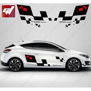 stickers renault sport achat vente stickers renault sport pas cher cdiscount. Black Bedroom Furniture Sets. Home Design Ideas