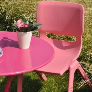 CHAISE CHAISE EMPILABLE ENFANT GUIMAUVE FUCHSIA RESIDENCE