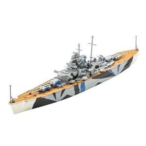 MAQUETTE DE BATEAU Maquette Bateau : Model Set : Tirpitz aille Unique