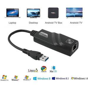 CARTE RÉSEAU  Gigabit RJ45 USB 3.0 a 10-100-1000 Mbps Adaptateur