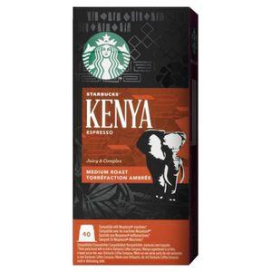 CAFÉ Starbucks - Starbucks Espresso Kenya (lot de 40 ca