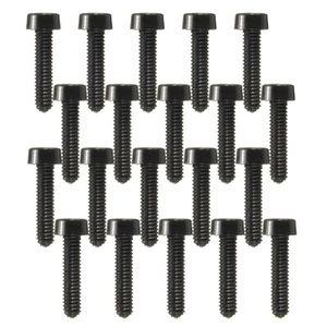 VIS - CACHE-VIS TEMPSA Lot de 20pcs M2.5 Vis Cruciforme Plastique