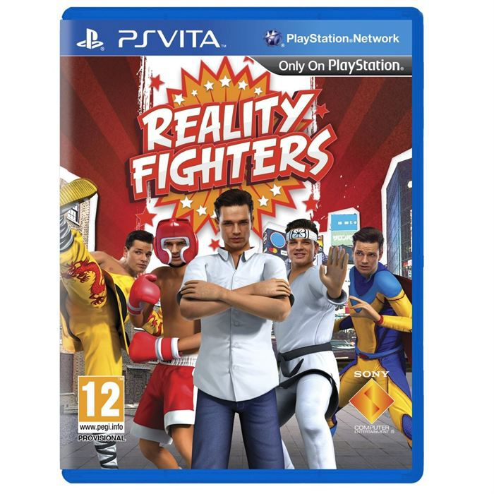 reality fighters jeu ps vita achat vente jeu ps vita reality fighters jeu ps vita cdiscount. Black Bedroom Furniture Sets. Home Design Ideas
