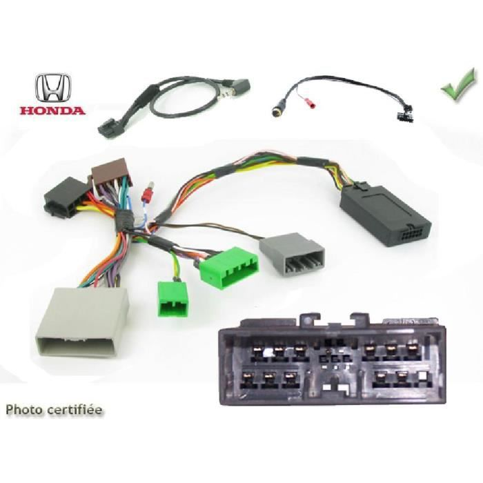 Interface Cde au Volant Honda Civic Hatchback Hayon 05-12 Alpine - ADNAuto - ADN-CAV