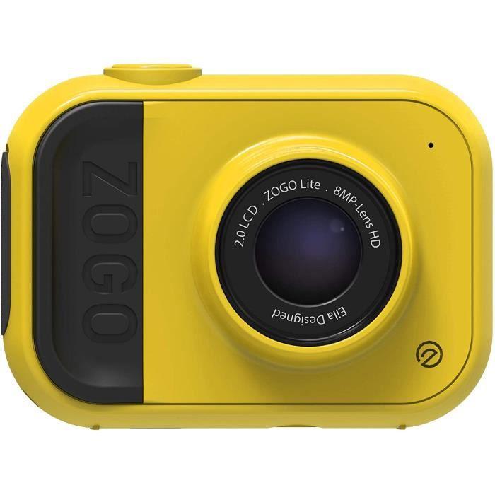 Appareil Photo 8MP et caméra d'action pour Enfants (Jaune)