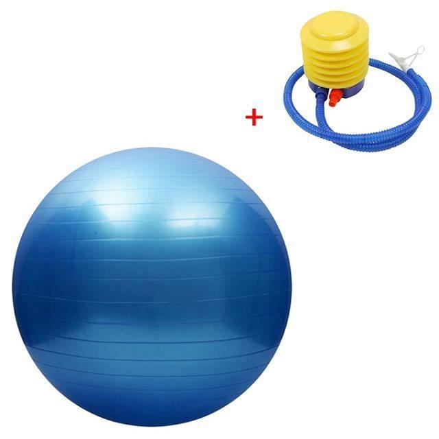 Boule de yoga antidéflagrante de 75 cm, ballon d'équilibre épais Pilates Fitness Training Ball Fitness Equipment,