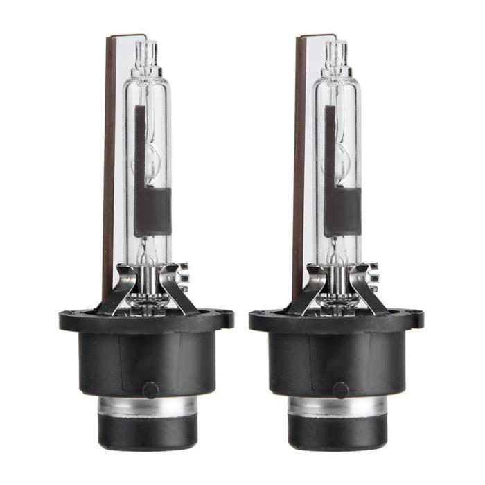 MEIHE 2PCS D2R 6000K 35W ampoules de rechange de phare de lampe au xénon de voiture