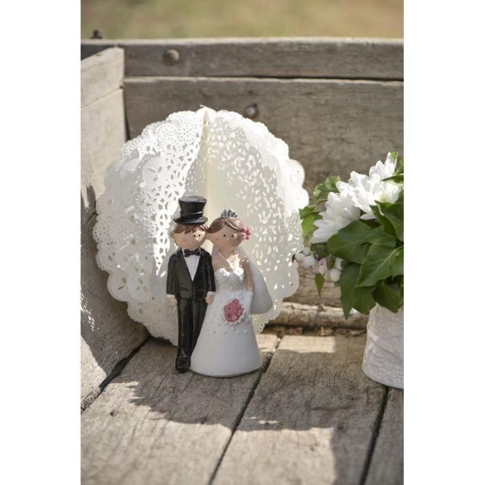 Grande figurine mariés - Mr amp Mrs