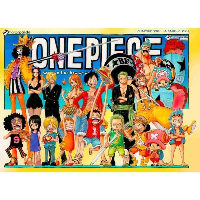 Poster Affiche Manga One Piece 2 61 x 84