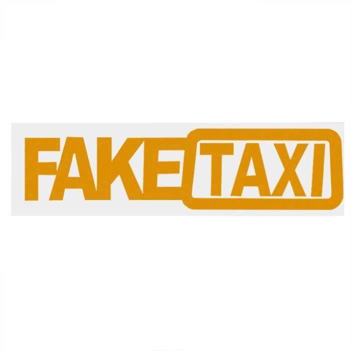 Style de voiture FAKE TAXI Autocollants de voiture