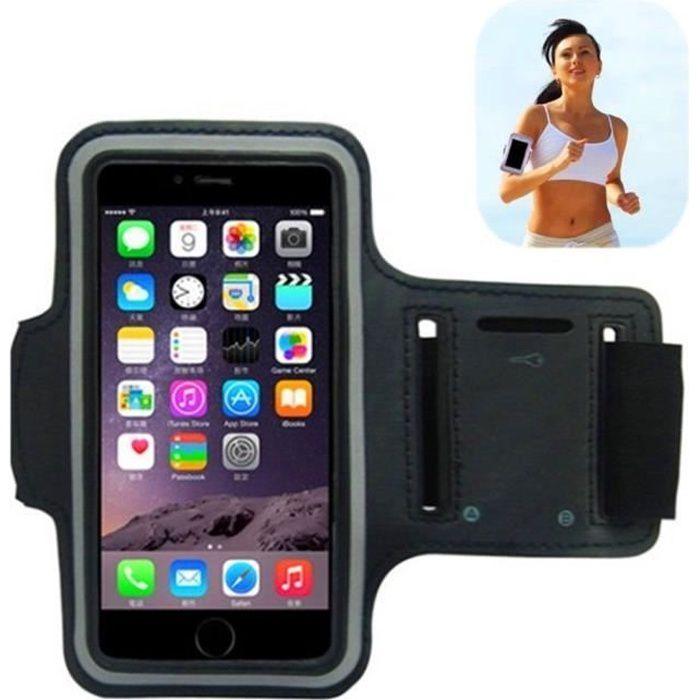 Brassard Armband Titulaire Pouch pour Apple iPhone 6 4.7 - -pour le Jogging / Gym / Vélo / Extérieur Sport endroit etc. Noir