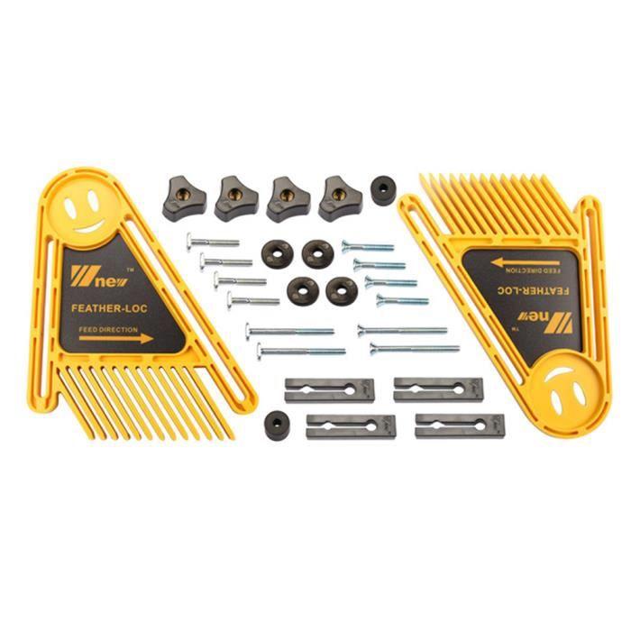 1 PC Plume Plastique Professionnel Facile à Utiliser Précis Planche Scie à Table pour Charpentier Menuiserie PLUME DE DECORATION