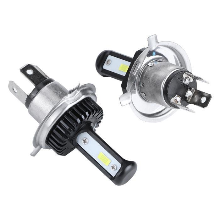 Qiilu LED Phare , 100% Brand New LED Phare H4 120W LED Phare Étanche Phare IP68 LED Phare De Voiture Avant Lumière