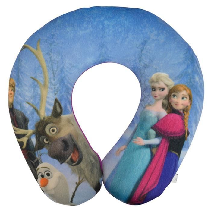 DISNEY La reine des neiges Support de cou en peluche douce