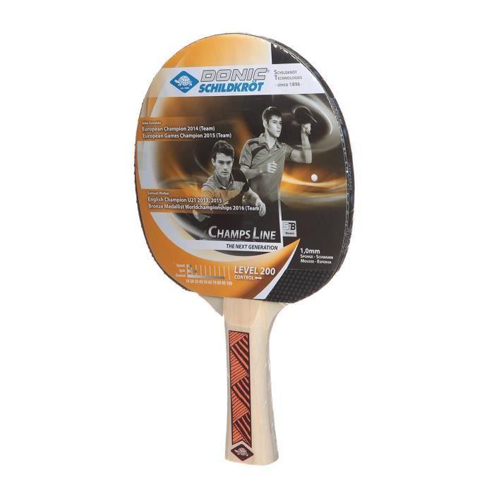 DONIC SCHILDKRÖT Raquette de tennis de table Champs Line 200