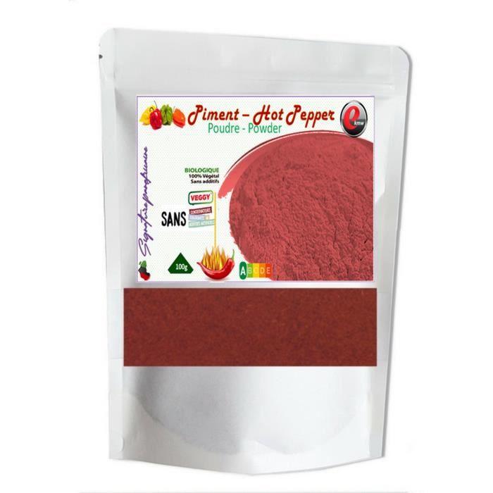 Piment en poudre fort- Qualité supérieure - 100g