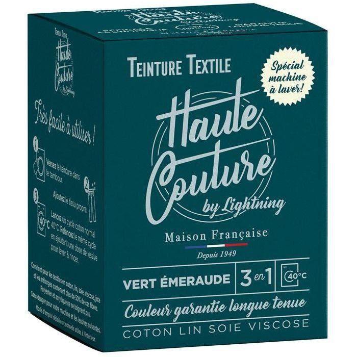 Teinture textile haute couture vert emeraude 350g