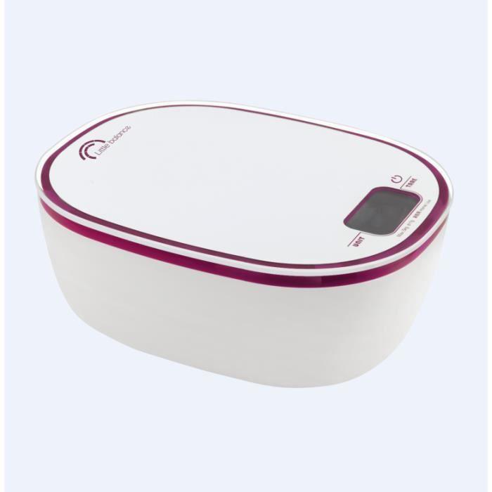 Little balance - balance de cuisine électronique 10kg-1g avec bol - 8222