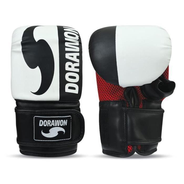 Gants sac de frappe DUDLEY blanc par Dorawon
