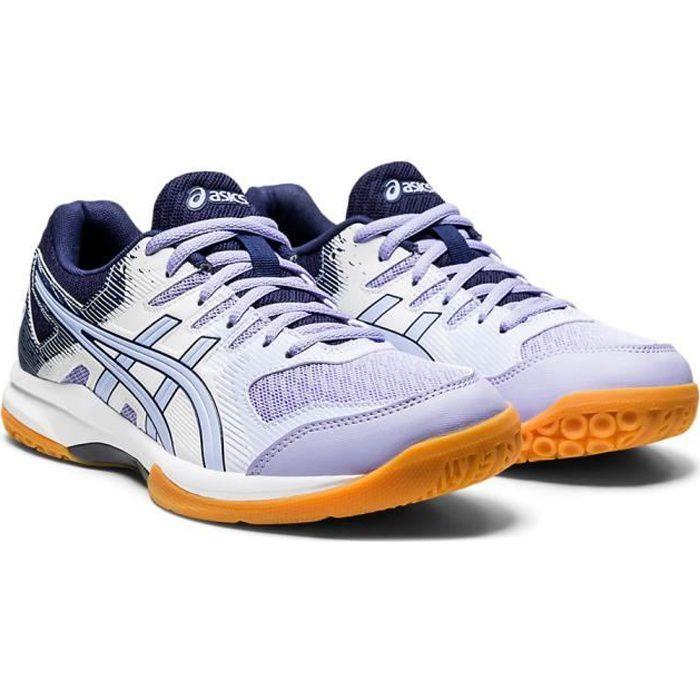 Asics Femmes Gel-Rocket 9 Chaussures De Sport En Salles Basketss Violet Squash