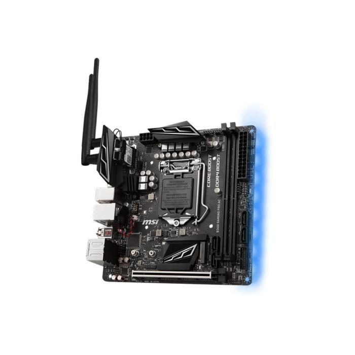 Carte mère Msi B360i Gaming Pro Ac mini Itx
