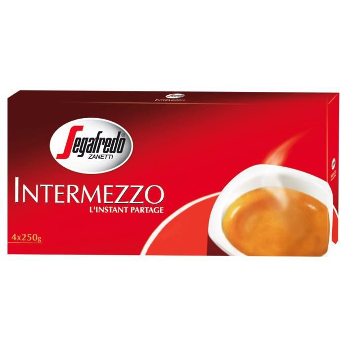 INTERMEZZO Moulu - Lot de 4 - 250 G