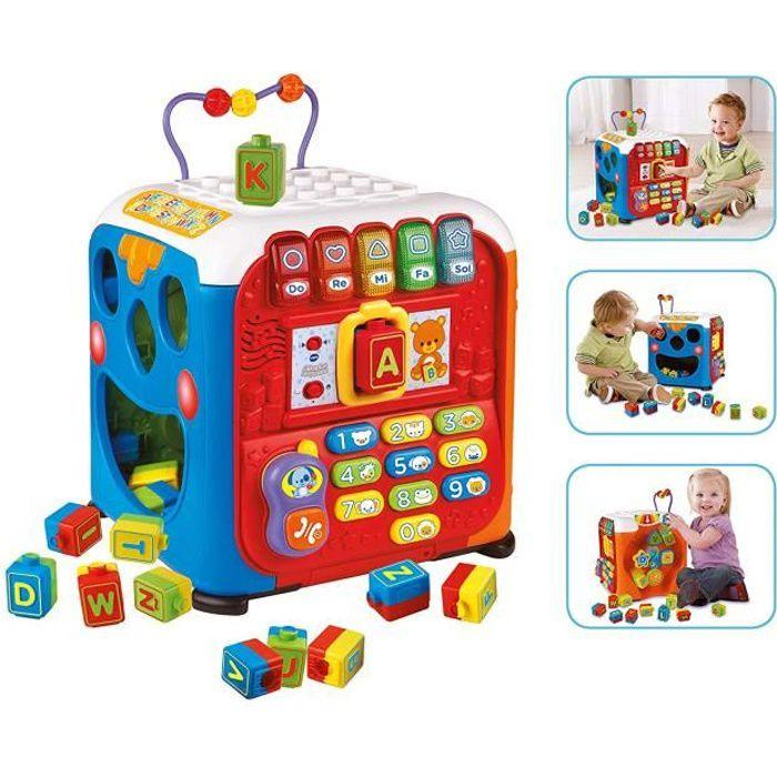 VTech Baby 3480-135422 - COMMUTATEUR KVM - Vtech Grand Cube d`activités avec Surprises