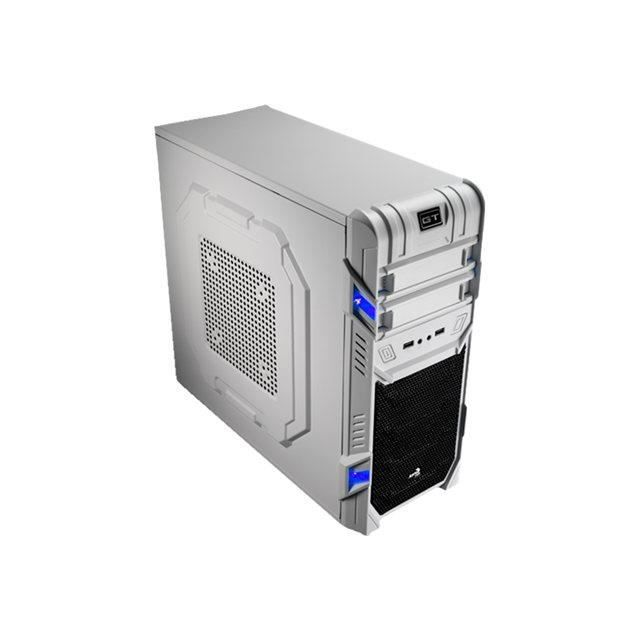 BOITIER PC  AeroCool GT White Edition - Tour midi - ATX - p…