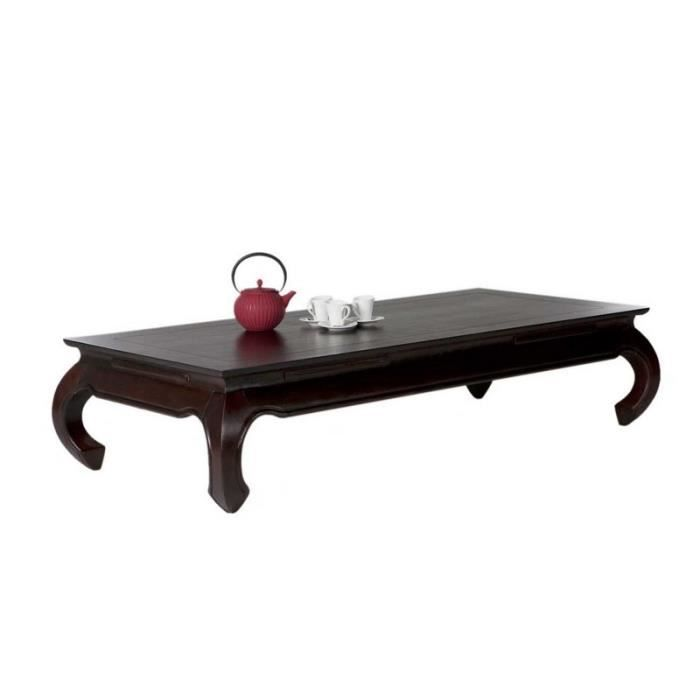 table basse rectangulaire opium 160x75 achat vente table basse table basse rectangulaire o. Black Bedroom Furniture Sets. Home Design Ideas