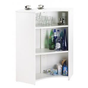 meuble comptoir meuble bar blanc coloris capitons. Black Bedroom Furniture Sets. Home Design Ideas