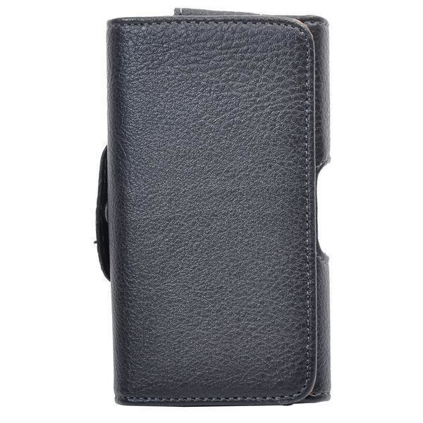 Coque housse etui iphone 4 4s ceinture cuir noir leather for Housse iphone 4 cuir