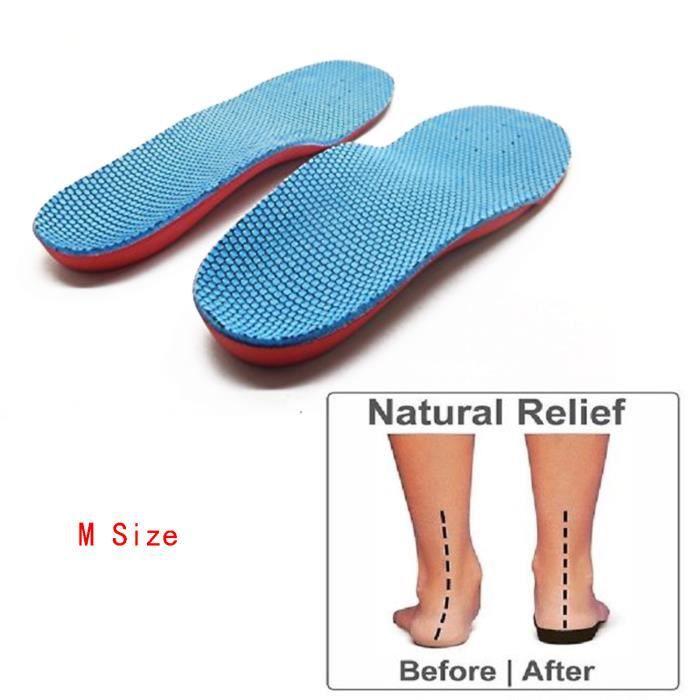 support de vo/ûte plantaire confortable Semelles pour plantaire fasciite semelles sport homme et femme PCSsole Semelle orthop/édique pour pied plat