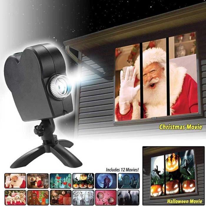 PROJECTEUR LASER NOËL E-THINKER Lampe de Projecteur Rotatif LED Comprend