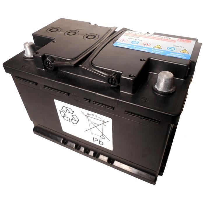 batterie auto 12v 70ah 720a fiamm efb start stop renault nissan achat vente batterie