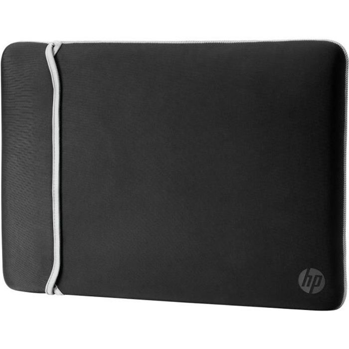 "SAC À DOS INFORMATIQUE HP 15.6"" Reversible Sleeve 2UF62AA – Black/Silver"