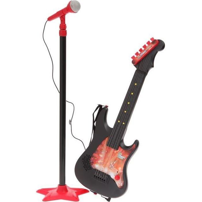 guitare micro a pied achat vente instrument de musique cdiscount. Black Bedroom Furniture Sets. Home Design Ideas