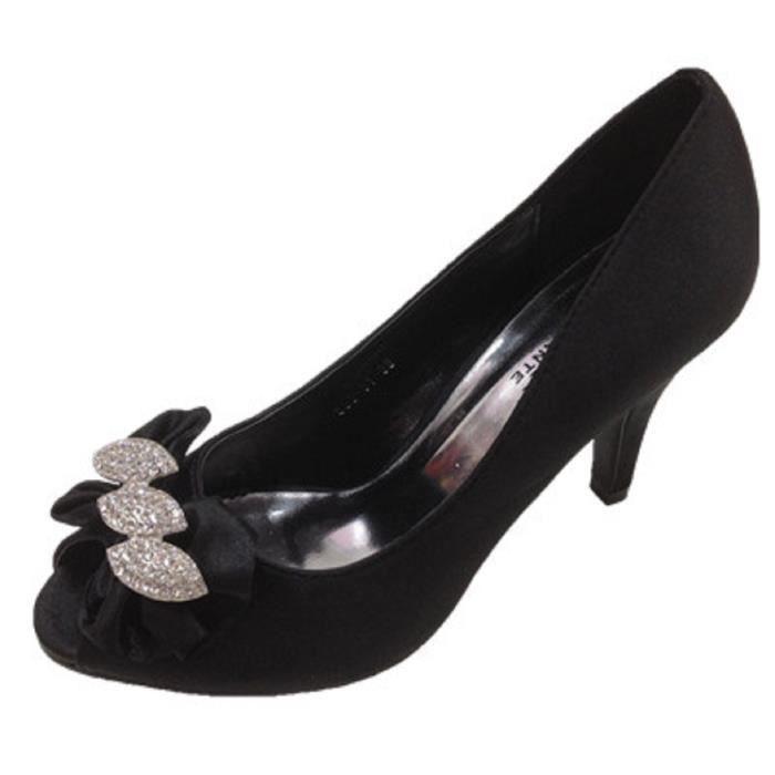 ESCARPIN Fashionfolie888 -  Femme  escarpins Sandale talon