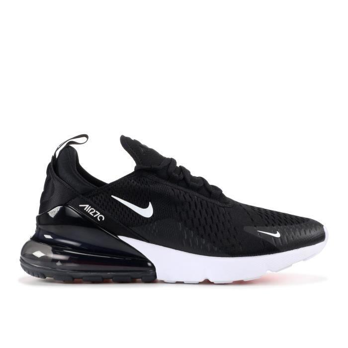 low price sale cheap for discount best deals on Baskets Nike Air Max 270 AH8050-002 Chaussures de running pour Homme Femme  Noir