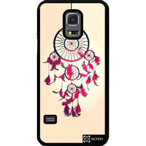 coque samsung galaxy s5 mini capteur de r ves rose. Black Bedroom Furniture Sets. Home Design Ideas