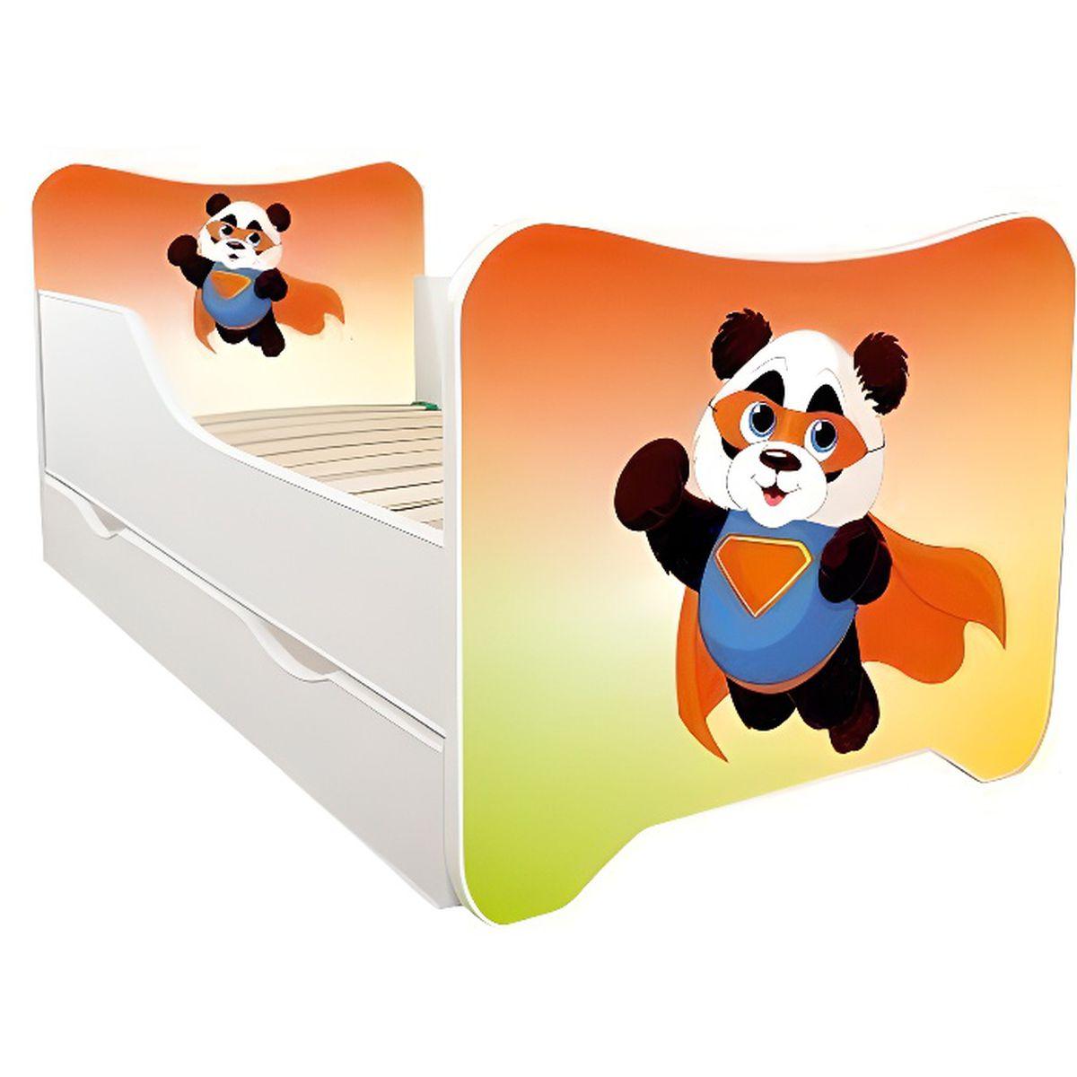 pour lit 120x60 cm Bambou panda//PatiChou Tour de lit b/éb/é 180x40 cm tissu 100/% coton