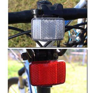 montagne 2 pc Bleu Vélo Roue Réfléchissant lumineux réflecteurs de route hybride