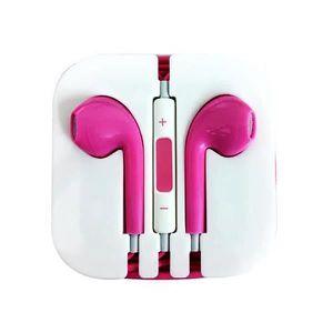 CASQUE - ÉCOUTEURS Popcorn Rose Écouteurs EarPods pour Apple iPhone -