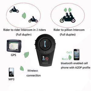 PIÈCE RADIOCOM. Kit Main Libre Intercom Moto avec Écran LCD Oreill