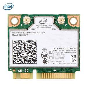 BT pour Carte r/éseau sans Fil Lenovo Thinkpad 04W3814 Intel Dual Band sans Fil AC 7260AC 7260HMW 04X6090 04X6010