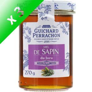 MIEL GUICHARD PERRACHON Miel de sapin du Jura - 270 g (