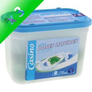 LESSIVE Lessive en doses liquides - 500 g - 20 lavages (Lo