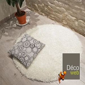 tapis rond achat vente tapis rond pas cher cdiscount. Black Bedroom Furniture Sets. Home Design Ideas