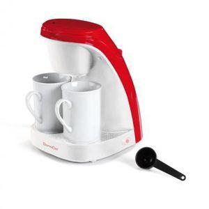 CAFETIÈRE DOMOCLIP DOM240R Cafetière filtre - Blanc et Rouge